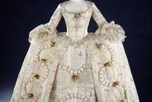 Historical fashion 1760-1780 Marie-Antoinette