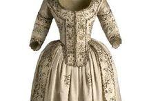 Historical fashion 1780-1790 Mode a l, anglaise