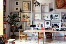 Wall space ideas / ideas of what & how to hang on walls in your home