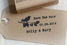 Save the date tags  / Save the dates invites and favours etc.