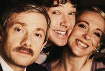 Holmes & Watson / BBC's Sherlock / by Ay Szuh