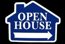 Open House signs / #RealEstate