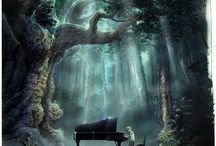 Piano / Music, the words to my soul