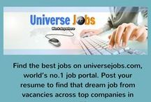 #Infographic Job Search Websites / Online employment look assets, including occupation inquiry destinations, occupation web indexes, systems administration locales Universerjobs.com