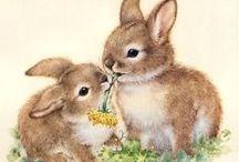 Пасха, курочки, кролики, гуси
