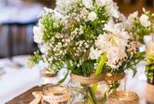 wedding decorations / Rustic, Rough n Ready!