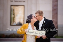Inspiration for Someone Else's Big Day / Check out blog posts from my October 2012 wedding: 