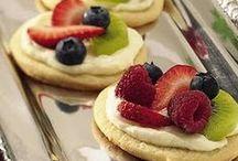 "Food: Sweet Tooth / ""Life is uncertain. Eat dessert first."" ~ Ernestine Ulmer"