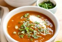 Soups / Soup recipes, delicious recipes for soups and fall