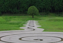 Labyrinths: Minotaurs not welcome / Unicursal mazes, seen by some as spiritual paths or ways to meditate. Others just like the feeling of confusion as you approach and are then led away from the centre. Single paths of fun whichever way you look at it.
