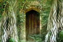 Magical portals and doors  / Doors you just have to go through. Arches you have to go under. Portals you have to pass.