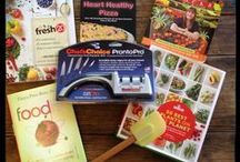 Giveaways! / Foodie-related giveaways from me and other top healthy food bloggers