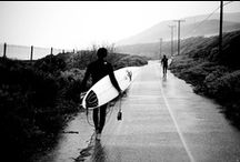 surf / I've never surfed before, but I find it really interesting. Hope to try it someday.  / by Madison Lein