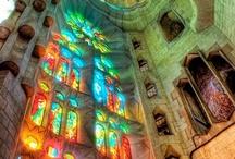 Magical Buildings / Magical interiors and exteriors.