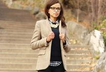 【fashion】 educator / Fashionable outfits for the teacher.