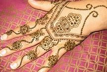 """Henna / """"Wear your heart on your skin in this life."""" ~ Sylvia Plath"""