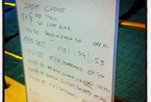 Swim Sessions / A collection of swim sessions I set and coach.  / by Russell Cox