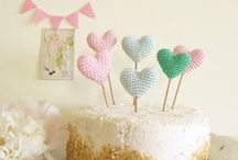 Crochet Love   Wedding Inspiration / Crochet might remind you of your grandmother's tea-time doilies, but lately crochet is trending in the wedding industry with more and more brides incorporating this vintage texture into their special day. DIY Crochet items such as heart-shaped cake toppers, bunting flags and wedding favours adds a personalized touch for your guests. Crochet can also be incorporated elegantly with delicate lace crochet wedding dresses, bridesmaids' dresses, sun umbrellas, accessories and shoes.