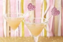 Food   Wedding Inspiration / Personalize your special day with a delicious signature cocktail that is not only pleasing to the taste buds, but also to your wedding theme. There are so many ways to include a signature cocktail into your menu. Pick a drink that matches your colour scheme, consists of your favourite alcohol or acts as your something new, something old, something borrowed, something blue. Whatever you decide, make sure it is sweet, strong and have a cute bridal-related name!