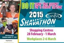CANSA Shavathon / View all the fun of CANSA Shavathon while showing solidarity with cancer survivors. Details at www.shavathon.org.za