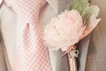 Blushing Dove   Wedding Inspiration / Dove grey and blush pink creates a light and romantic ambiance, without following the typical trend of pastels. These wishy-washy colours complement one another beautifully as the cold, industrial grey is softened by pretty playful pinks. The palette is still soft, but with a very sophisticated and stylish twist. Add lace and pearls for a vintage flair or opt crystals and sparkling silver if you want a more modern wedding.