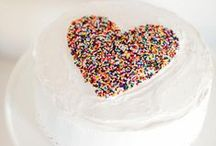 Sprinkled   Wedding Inspiration / Sprinkles make us smile!  These sweet little nibbles make for a colourful mix of elegance and fun. Not only are they super tasty, but also adds a pop of colour and excitement to your special day. Opt for a multi—layered, rainbow sprinkle cake or add them onto your candy station treats. They also make for a great, eco-friendly confetti option or vibrant table décor. What a sweet way to sprinkle your guests with love.