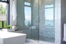 Modern Bathroom Ideas / Add a touch of contemporary style to your bathroom...