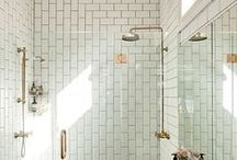 Wet Room Ideas / Inspiration for creating a designer wet room in your bathroom.