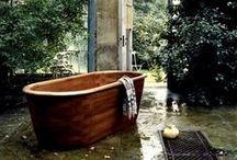 Bath / - tubs -  toilets -  sinks - / by Valerie Cochran