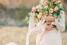 FLORAL / Long ribbon bouquets look so nice in photographs. They are so whimsical and dreamy, and add lovely movement to an image.