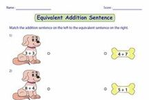 Number Sense and Operations / A huge collection of worksheets based on number sense and operations.