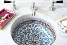 Moroccan Bathroom Ideas / Create a Moroccan inspired bathroom that oozes style...
