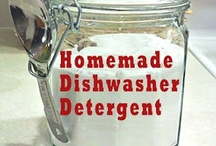 Make It Yourself / There is huge satisfaction in taking a 25 cent bar of soap and making 2 quarts of liquid hand soap ... in taking $10 and creating enough laundry soap to last a year ... or making your own kitchen cleaner for 5 cents a quart.   It may be to save $$  or to avoid harmful ingredients ... or just because you can!!
