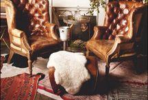 Handsome Rooms / Furniture, men, handsome, rooms, chic, older, industrial, eclectic, design, designer, metal, brick, fabric, amazing, interior design, Elle decor, editorial rooms, traditional design, modern design, traditional home, eclectic, minimal, tribal, masculine