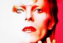 DECADES of David Bowie / David Bowie makeup music fame celebrity fashion androgyny style icon actor singer  / by Don Malot