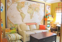 Classy Classroom / Learning at Home // Educational Spaces