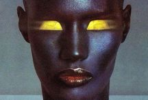 DECADES of Grace Jones / Grace Jones, Studio 54, Disco, New Wave,  / by Don Malot