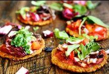 V&V Starters, sides, appetizers & bites / Vegetarian or Vegan / by Agata San
