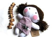 Handmade Gifts for girls / Unusual, handmade and charming gifts for your daughter. Trying to stay away from the plastic fantastic toys that swamp the shops and look for more unusual, ethical, natural and uber cute products.