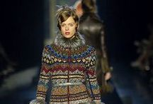 Knitting/crochet & haute couture / Knitting and crochet - the new fashion