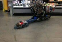 People of Walmart / The bizarre people of Walmart