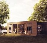 mAI - little houses / my architectural inspirations: little houses making great gestures ;)