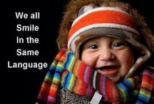 The World is Smiling / Children Laughing, smiling, joy, smiles,Tribes, ethnicities, nations , cultures, smiles, laughing, love, hearts, smiles, laughing animals, peace, spirituality, global cultures, old people, happy people.