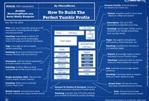 JA Tumblr for Business / Social Media Tips for using Tumblr to promote your business content and attract more visitors to your website. How to use Tumblr effectively. Tips and Infographics. Build your audience and following. Become a subject matter expert and industry leader.