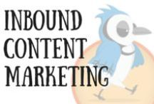 JA Content Marketing / Inbound Content Marketing Ideas and tips for promoting and marketing your business. Types of inbound marketing include optimising your website content, social media activity and blogging.
