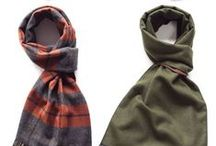 Scarves for Men: Tips & Advice / Advice, tips, insight, and more on scarves for men, including different scarf styles, education on how to tie a scarf, etc.