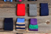Socks for Men: Tips & Advice / Practical tips, advice, inspiration, and more about socks for men.  How to pick dress socks, what sock colors to wear, and other sock-related topics to help men with their sock game.
