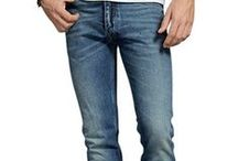 Jeans for Men: Tips & Advice / Practical tips, insight, advice, and more on jeans for men. Different styles of jeans, how jeans should fit, and more.