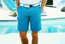 Shorts for Men: Tips & Advice / Tips, advice, insight, and more on shorts for men.  Learn about different styles of shorts, what to wear them with, and more.