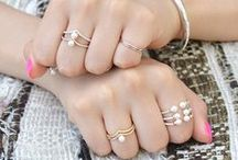 Pearl of the Ocean / The Faint Hearted Jewelry Pearl Rings and other pearl inspo!